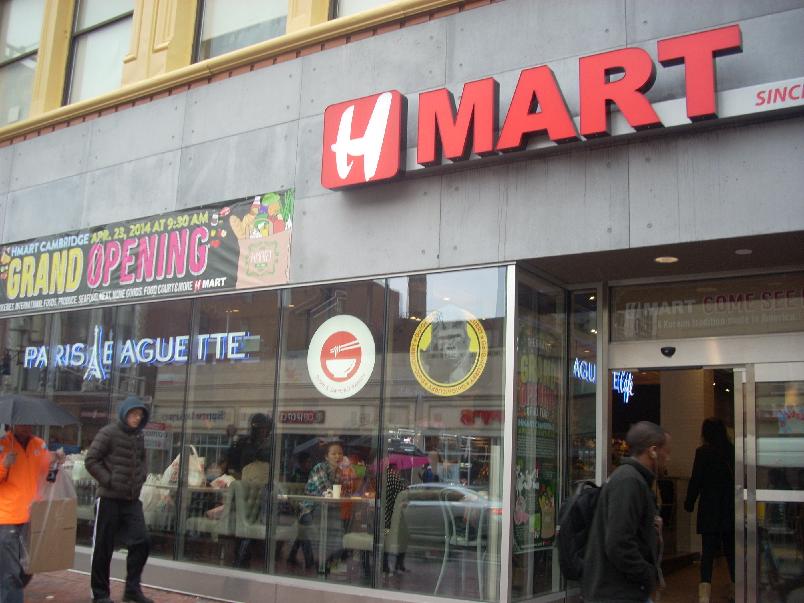 H Mart Opens in Central Square | Cambridge Community ...