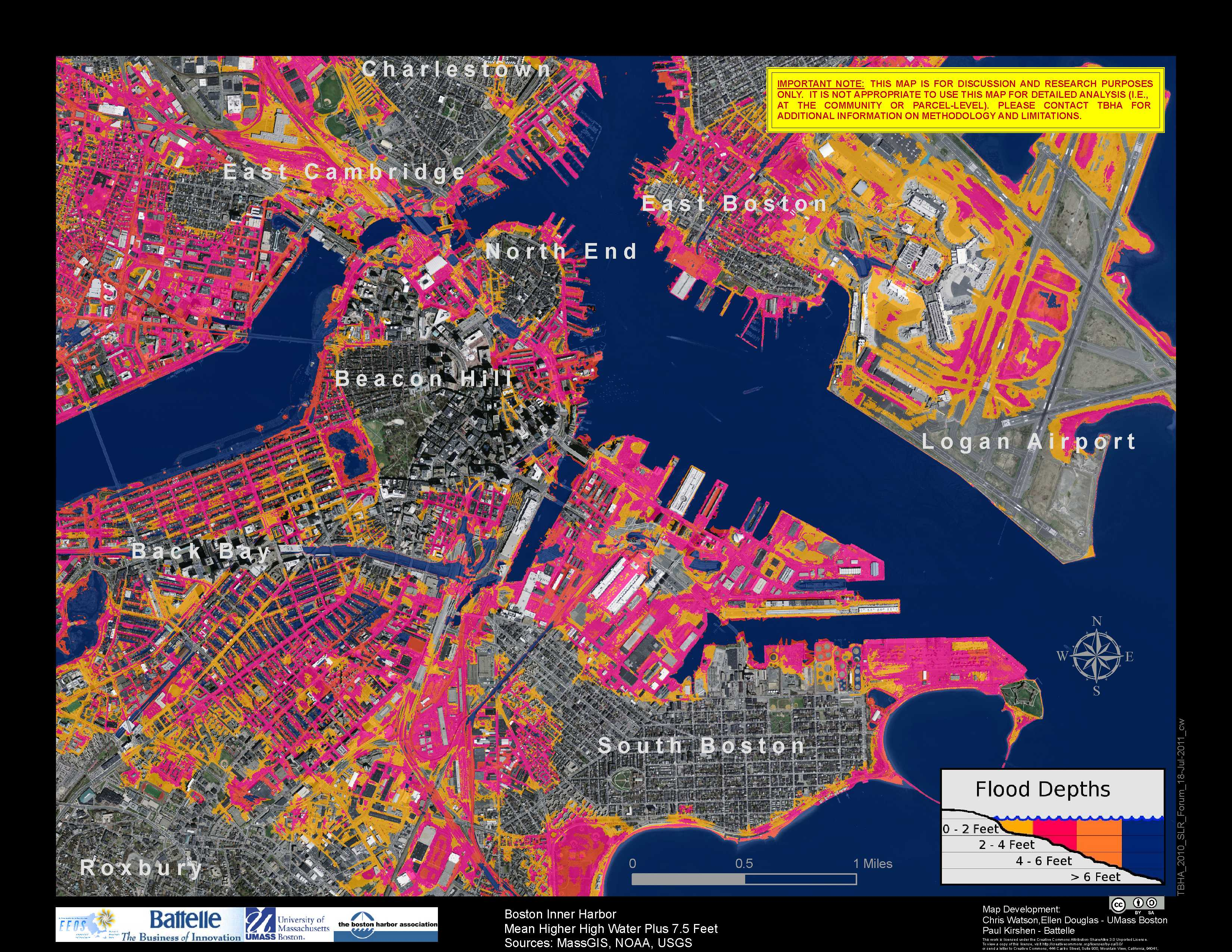 How Vulnerable Is Cambridge To Climate Change Cambridge - Global warming flood map