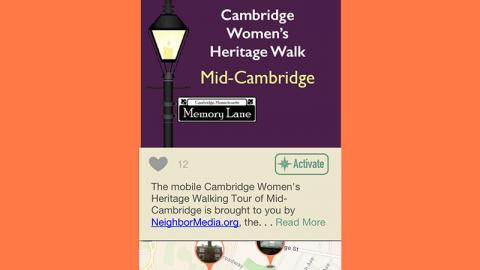 Cambridge Women's Heritage Walks