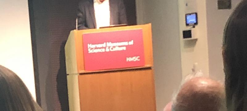 Friedman at Geo Lecture