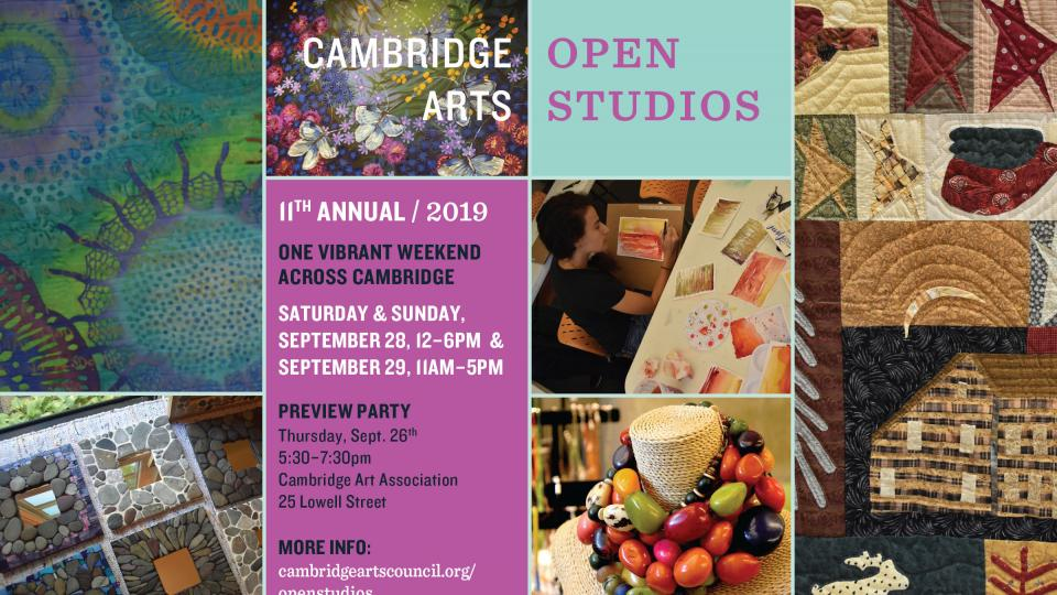 Cambridge Open Studios 2019